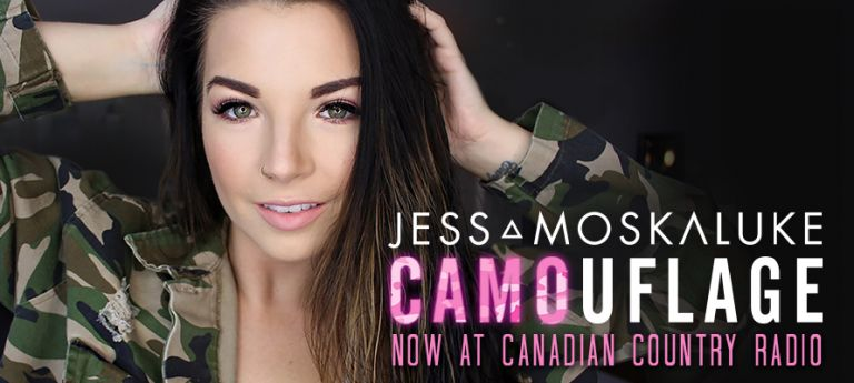 Jess Moskaluke Camouflage At Radio Now
